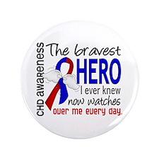 """CHD Bravest Hero 3.5"""" Button"""