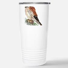 Watercolor Kestrel Falcon Bird Nature Art Travel M