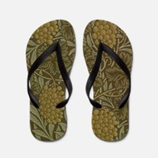 William Morris Vine Flip Flops