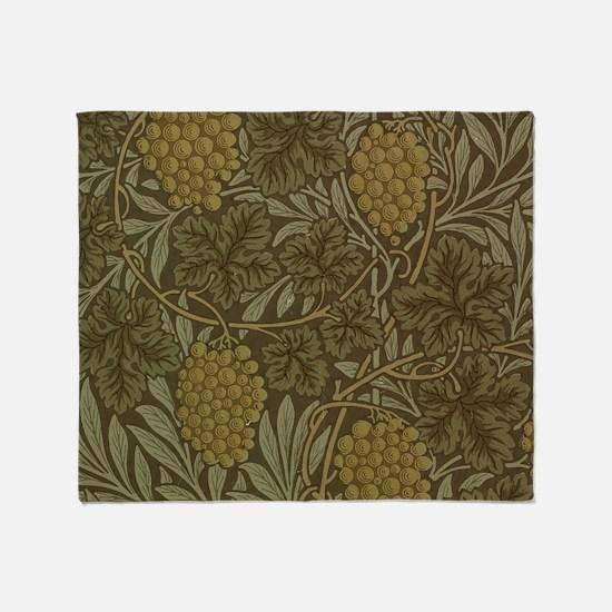 William Morris Vine Throw Blanket
