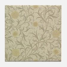 William Morris Scroll  Tile Coaster