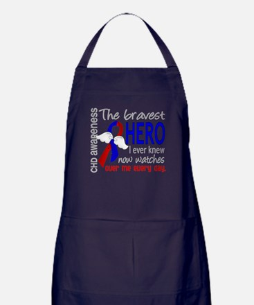 CHD Bravest Hero Apron (dark)