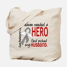 Parkinsons HeavenNeededHero1 Tote Bag