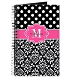 Monogrammed Journals & Spiral Notebooks