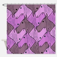 Ponies for a Girl Shower Curtain