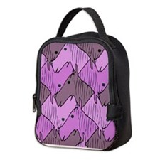 Ponies for a Girl Neoprene Lunch Bag