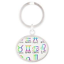 Twelve Zodiac signs Keychains