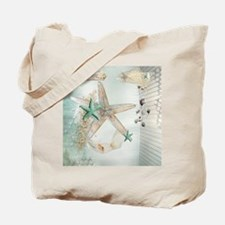 Summer Sea Treasures Beach Tote Bag