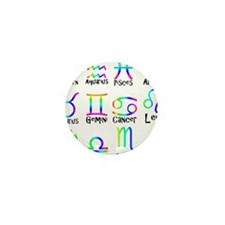 Twelve Zodiac signs Mini Button (10 pack)