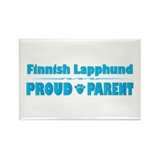 Lapphund Parent Rectangle Magnet (10 pack)