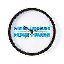 Lapphund Parent Wall Clock