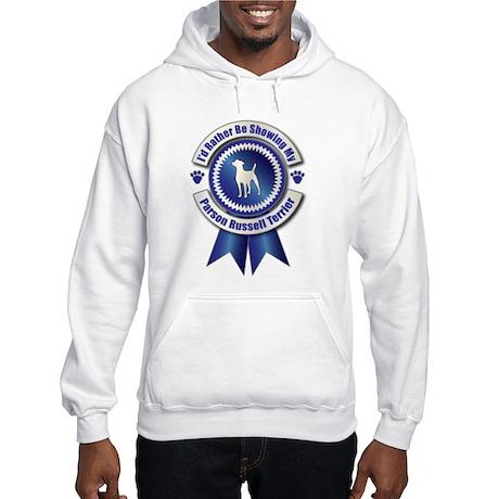 Showing Terrier Hooded Sweatshirt