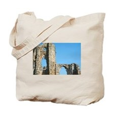 Detail of Whitby Abbey ruins Tote Bag