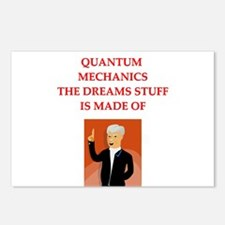 quantum mechanics Postcards (Package of 8)