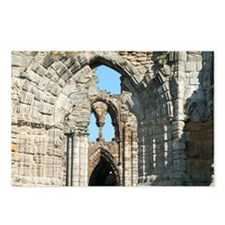 Detail of Whitby Abbey ru Postcards (Package of 8)
