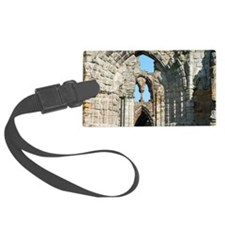 Detail of Whitby Abbey ruins Luggage Tag