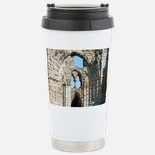 Detail of Whitby Abbey  Travel Mug