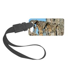 Graceful arches in Whitby Abbey  Luggage Tag