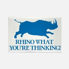 Rhino I Know What You're Thinking Magnets