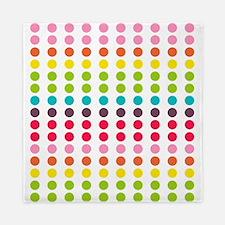Colorful Dots Pattern 3 Queen Duvet