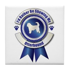 Showing Otterhound Tile Coaster