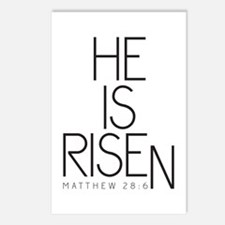He is Risen Postcards (Package of 8)