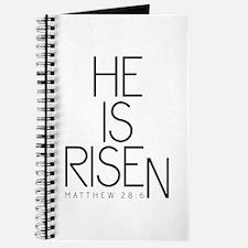 He is Risen Journal
