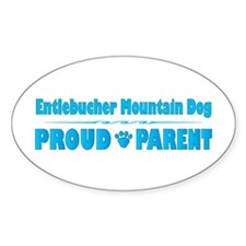 Entlebucher Parent Oval Decal