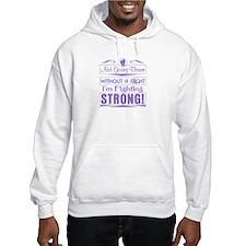 Hodgkins Lymphoma Fighting Stron Hoodie