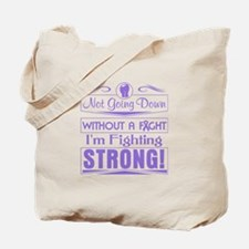 Hodgkins Lymphoma Fighting Strong Tote Bag