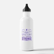 Hodgkins Lymphoma Figh Water Bottle