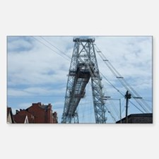 Newport Transporter Bridge Decal