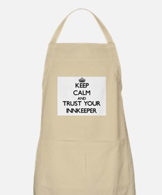 Keep Calm and Trust Your Innkeeper Apron