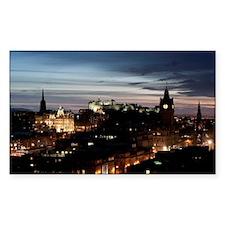 Edinburgh Lights Decal