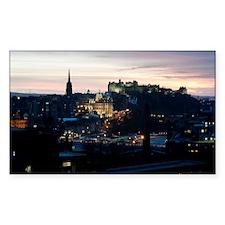 Nighttime Edinburgh Decal