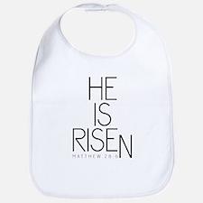 He is Risen Bib