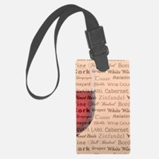 TIME FOR WINE Luggage Tag