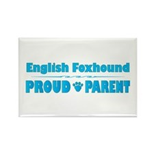Foxhound Parent Rectangle Magnet (10 pack)