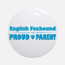 Foxhound Parent Ornament (Round)