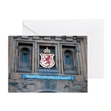 Castle Shield Greeting Card