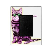HipsterCat Picture Frame