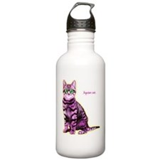 HipsterCat Water Bottle