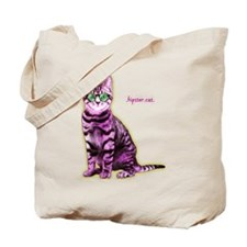 HipsterCat Tote Bag