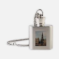 scott monument Flask Necklace