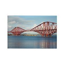forth bridge panoramic Rectangle Magnet