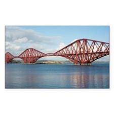 forth bridge panoramic Decal
