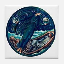 Burne Jones False Mercury Tile Coaster