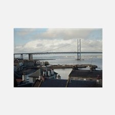 Forth road bridge Rectangle Magnet