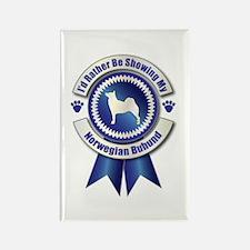 Showing Buhund Rectangle Magnet (100 pack)