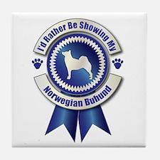Showing Buhund Tile Coaster